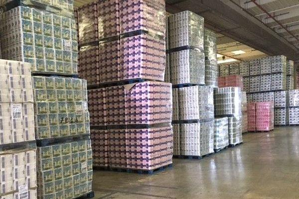 Les stocks de papier toilette ont diminué à vive allure !