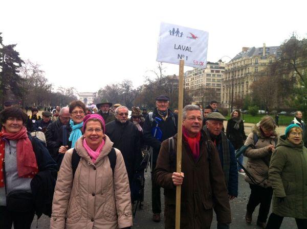 Petite pancarte pour la Mayenne