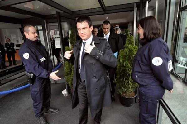 Manuel Valls à Bordeaux le jeudi 30 mai 2013