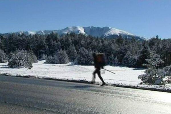 Gerrit Adriaensen le chômeur des Pyrénées-Orientales compte courir 15 jours pour rejoindre l'Elysée