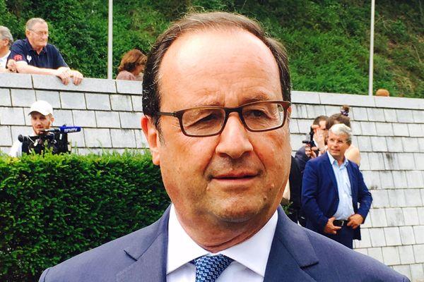 François Hollande juge les frappes en Syrie justifiées.