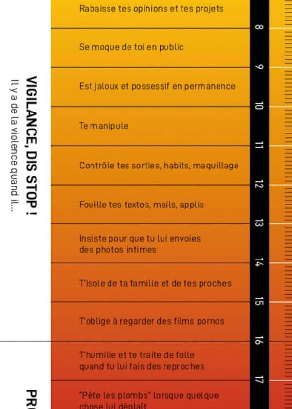 Le violentomètre permet d'évaluer le degré de violence de certains comportements du quotidien.