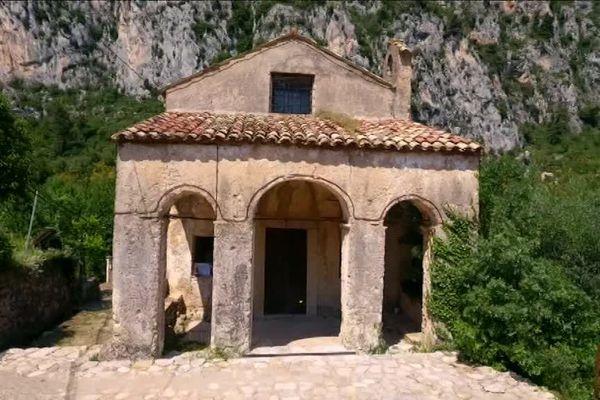 La chapelle Saint-Lazare de Gorbio, un patrimoine à sauver.