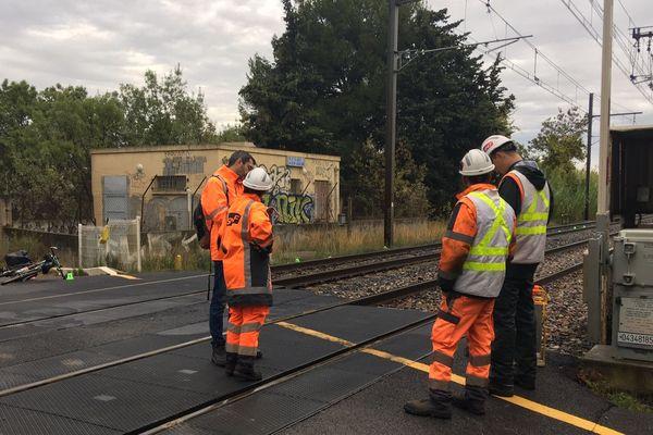 Villeneuve-lès-Maguelone - Le TGV 6204 a percuté un cycliste aux alentours de 7h30 - octobre 2019