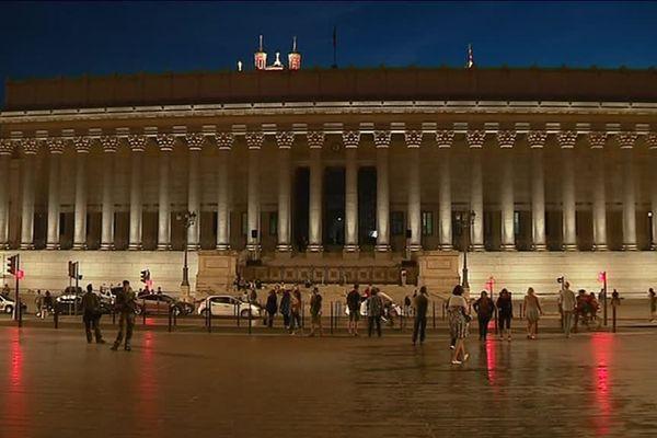 Lyon - Le palais de Justice