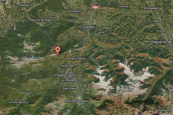 Le seisme s'est produit au nord-ouest d'Argelès-Gazost