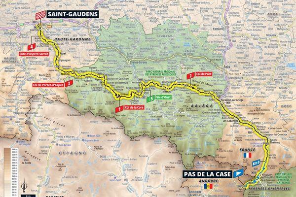 La 16ème étape du Tour de France aura lieu entre le Pas de la Case, en Andorre, et Saint-Gaudens, en Haute-Garonne, ce mardi 13 juillet.