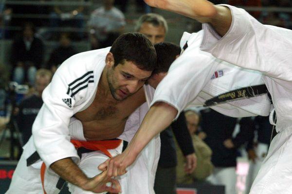 Larbi Benboudaoud, entraîneur de l'équipe de france féminine de judo