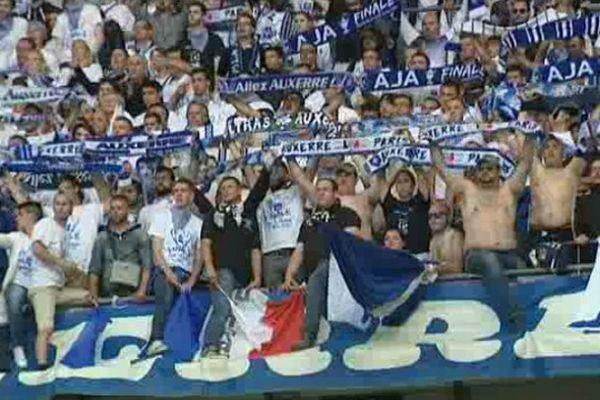 Les supporters de l'AJ Auxerre