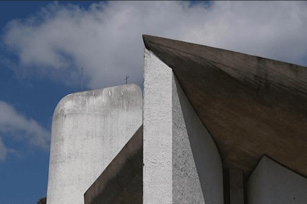 Chapelle Notre-Dame du Haut de Le Corbusier à Ronchamp