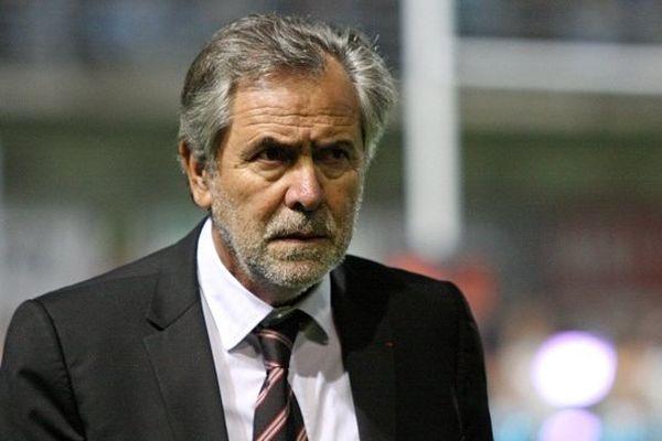 Le président du Stade Toulousain René Bouscatel.