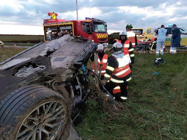 L'accident a eu lieu à 20h40.