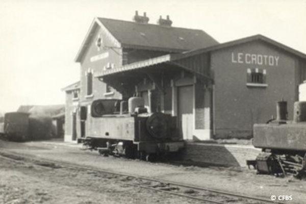 La gare du Crotoy début du siècle dernier