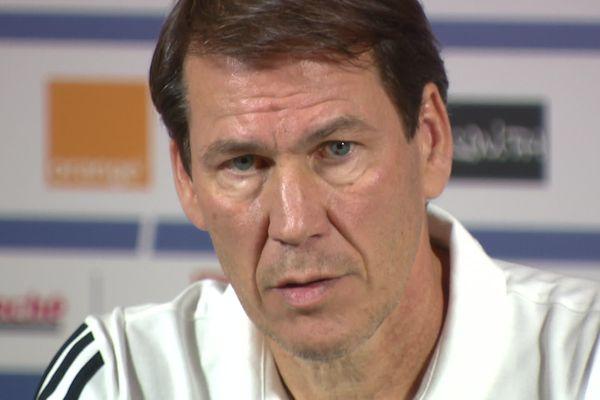 Rudi Garcia entraîneur de l'OL depuis le 14 octobre 2019