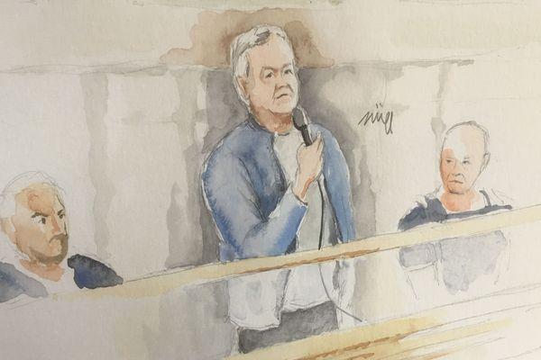 Pascal Jardin à son procès en appel
