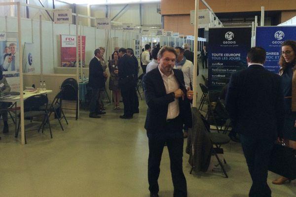115 entreprises présentes à Brive (Corrèze), le 29 septembre 2016 pour les 18e rencontres de la Mecanic Vallée