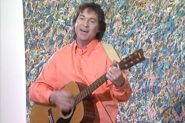 Alain Delorme lors d'un passage à la télévision en 1997.