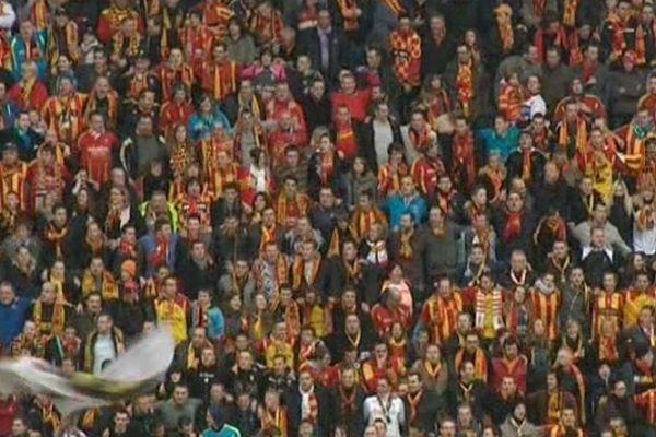 Le public du stade Bollaert-Delelis