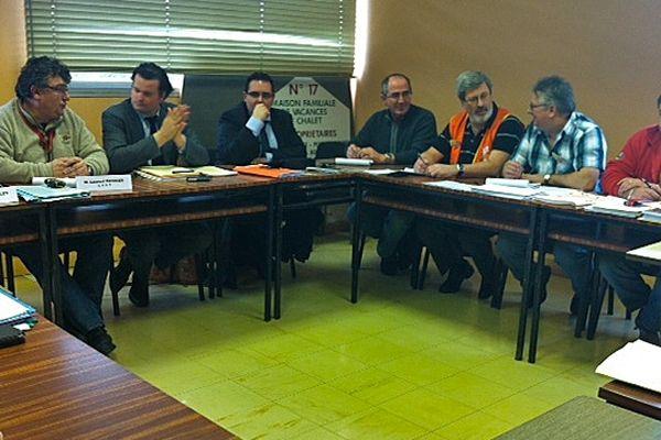 Mercredi 6 février 2013 : Comité d'Etablissement Petroplus à Petit-Couronne
