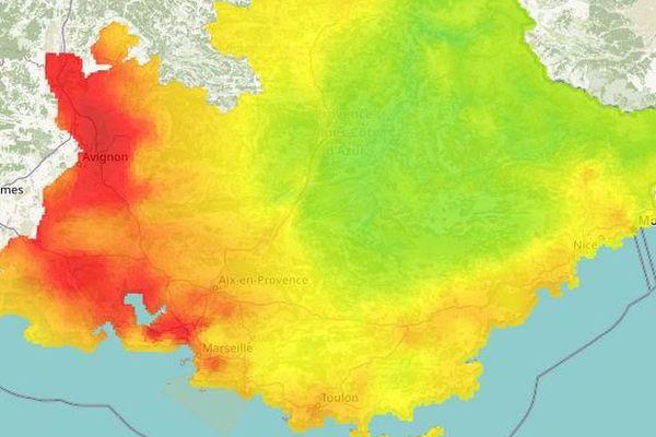 14/02/2019 - Un épisode de pollution aux particules fines est attendu dans le Vaucluse et les Bouches-du-Rhône.