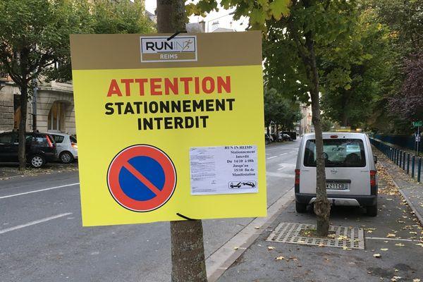 Circuler et stationner pendant le Run in Reims sera très difficile dans certaines zones de la ville, dimanche 15 octobre.