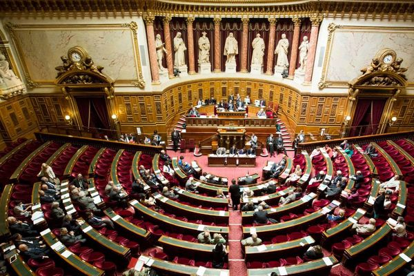 Une séance de questions au gouvernement au Sénat en juillet 2014.