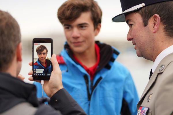 Vous avez peut-être suivi un de nos facebook lives le départ de la course à bord du bateau arbitre.