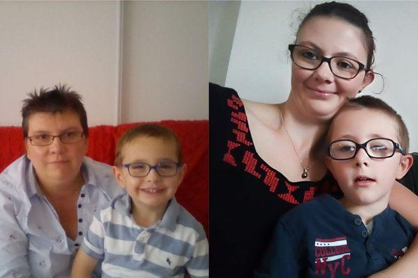 Céline et Laëticia ont décidé de se battre pour faire scolariser leur enfant autiste, Corentin et Nolas, dans des classes spécialisées.