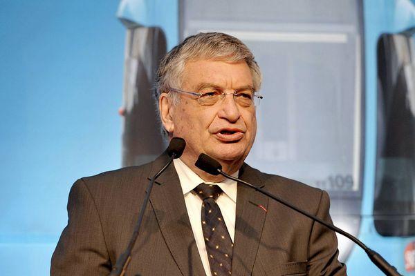Jacques Auxiette, élu depuis 2004, quitte la présidence du Conseil Régional des Pays de la Loire