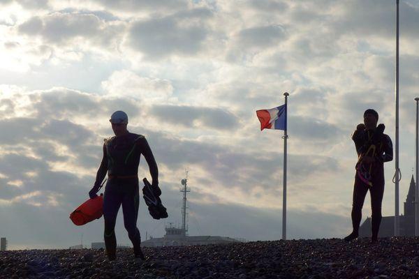 Un départ symbolique de Dieppe