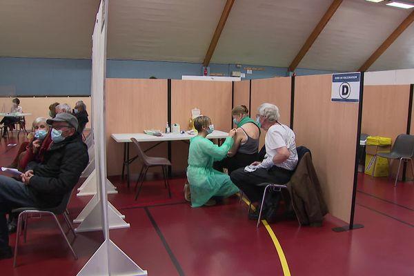 Centre de vaccination du Versoud (illustration)