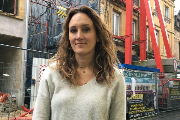 Après le sinistre de 2018, les commerçants de la rue Bourbon à Charleville-Mézières suivent la renaissance du quartier avec attention
