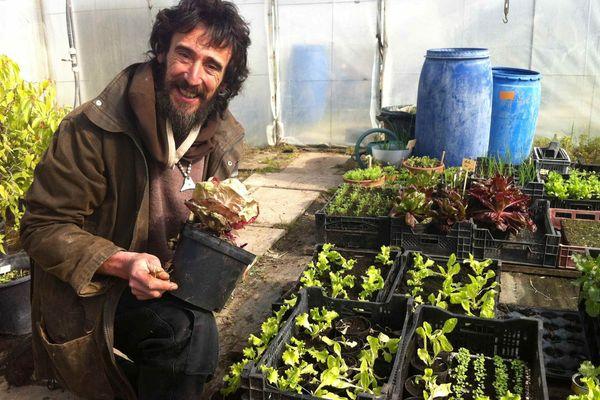 Xavier Mathias, le jardinier bio du Potager du Roi à Versailles