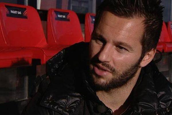 Frédéric Sammaritano a quitté Auxerre pour jouer à Dijon, en juin 2015.