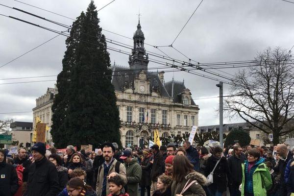 La marche à Limoges.