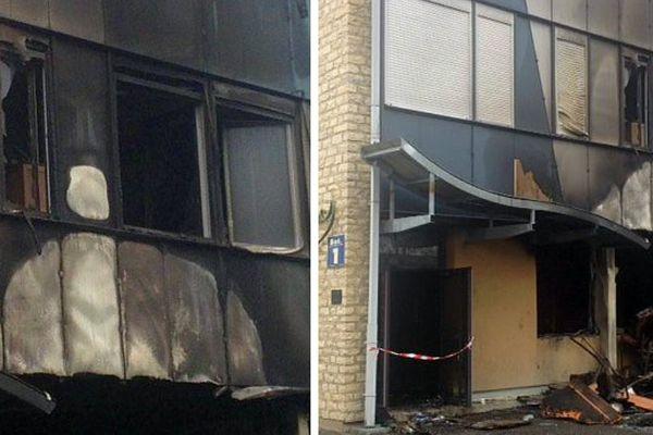 Un incendie criminel a eu lieu au lycée Jean-Rostand à Nevers dans la soirée du vendredi 11 au samedi 12 novembre 2016.