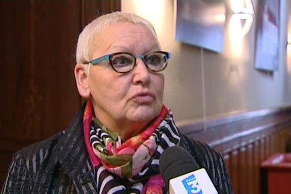 Colette Popard au conseil départemental en décembre 2015.