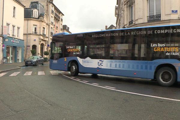 Les transports en commun restent gratuits à Compiègne