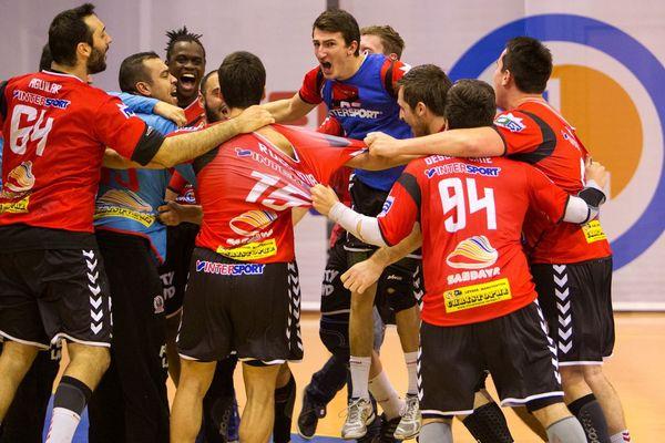 La joie des handballeurs caennais