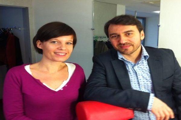 """Sandrine Mercier et Juan Gordillo Hidalgo, les réalisateurs d'Enfants Volés"""""""