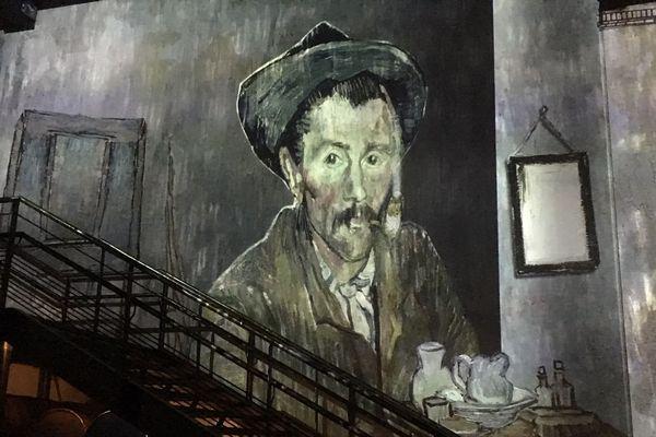À voir à l'exposition « Van Gogh, la nuit étoilée » jusqu'au 31 décembre 2019.