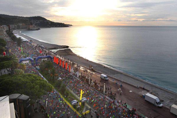 Souvenirs d'un marathon Nice-Cannes qui n'était pas confiné !