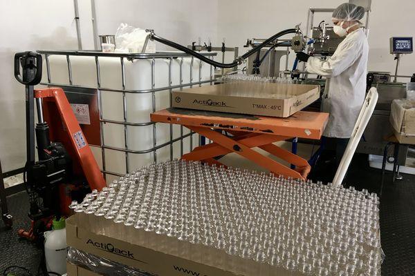 L'entreprise Solibio en Haute-Vienne mobilisée pour la fabrication de savon hydro-alcoolique