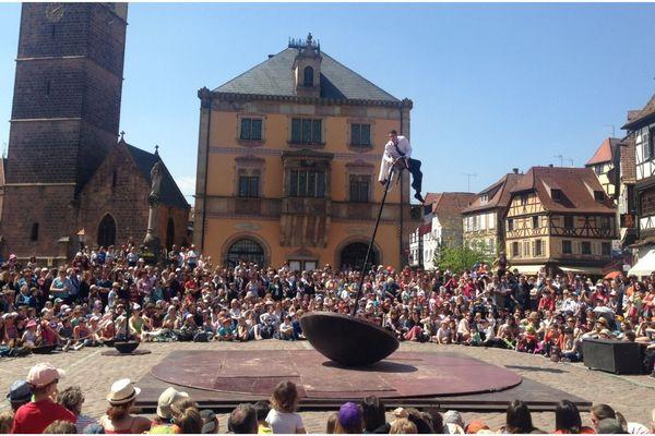 Le 1er-Mai à Obernai, c'était la traditionnelle journée des spectacles et animations de rue