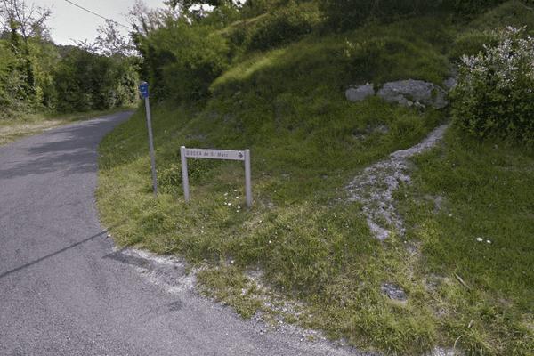 L'explosion a eu lieu dans les anciennes carrières de Soyaux près de la route Saint-Marc.
