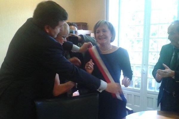 Josette Bourdeu, nouvelle maire de Lourdes.