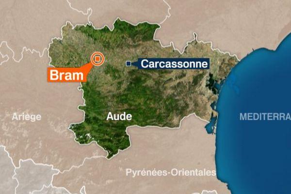 Bram dans l'Aude