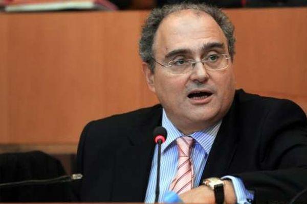 Le président du Conseil exécutif de Corse, Paul Giacobbi