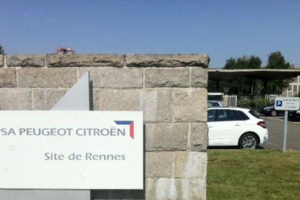 Le site de La Janais à Chartres-de-Bretagne