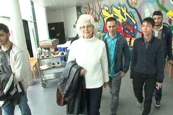 Les lycéens de Gennevilliers ont retrouvé la trace de Dina Godschalk et de sa famille, les Farhi.